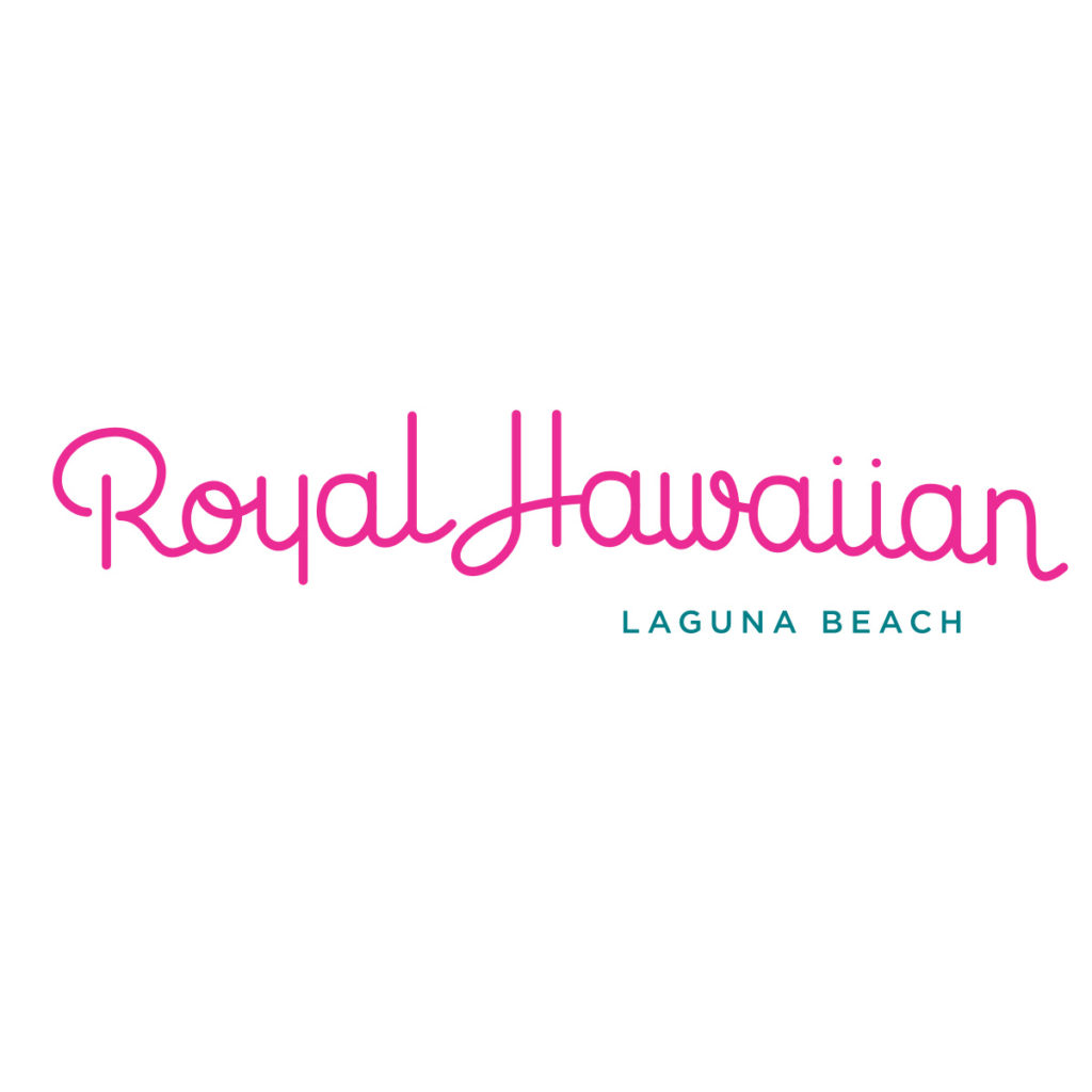 Royal Hawaiian logo black Laguna Beach